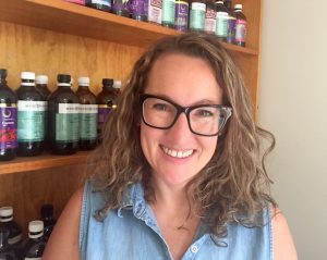 Naturopath and birth attendant, Nicole Tracy